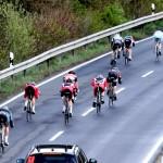 Rund um Düren 2012 das Team auf der Abfahrt