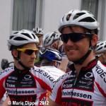 Basti Becker und Sascha Starker vor dem Start in Sossenheim