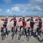 Knokke-Heist Belgien, das Team
