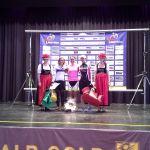 Kathrin auf dem Podium...Glückwunsch