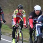 Markus im ersten Rennen in Herford